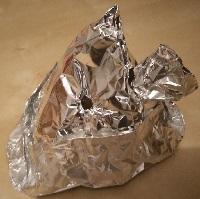 control mental alienigena gorro papel aluminio inhibidor defensa